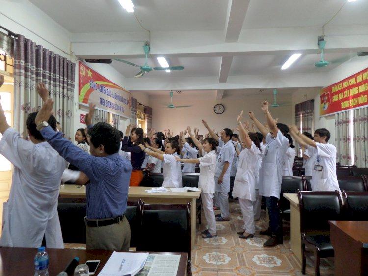 Các khóa tập huấn cho các bệnh viện